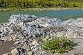 Rock outcrop on bank of Firth River, Ivvavik National Park, YT.jpg