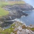 Rocky inlet, Gubaranduff, Inishbofin - geograph.org.uk - 199567.jpg