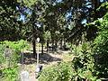 Rodi, chiesa della vergine del borgo, giardini.JPG