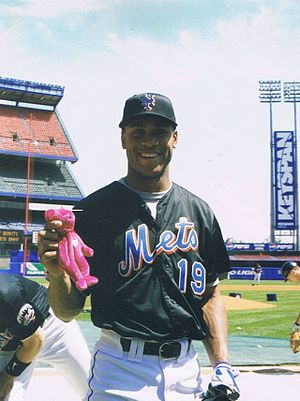 Roger Cedeño - Cedeño with the New York Mets