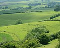 Rolling farmland west of Maes Knoll - geograph.org.uk - 1389158.jpg