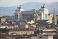 Rom, Blick von der Engelsburg zum Vittoriano.JPG