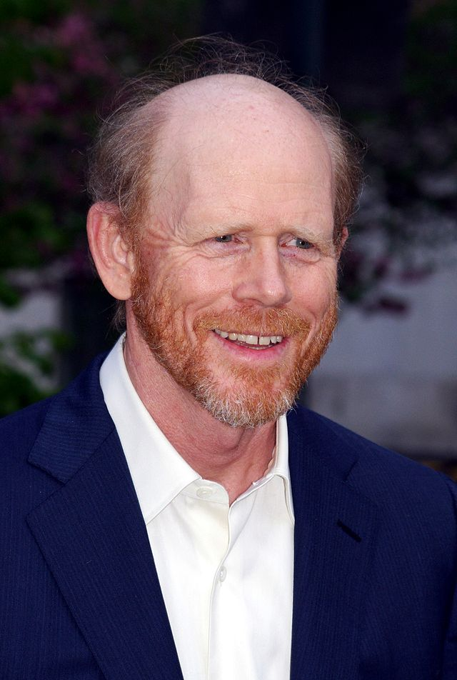 The 63-year old son of father Rance Howard and mother Jean Speegle Howard, 175 cm tall Ron Howard in 2017 photo