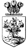 Theodore Roosevelt coat of arms - Qui Plantavit Curabit