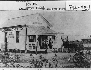 Rosharon, Texas - U S Post office in Rosharon in 1911