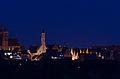 Rothenburg ob der Tauber von Süden bei Nacht, 001.jpg