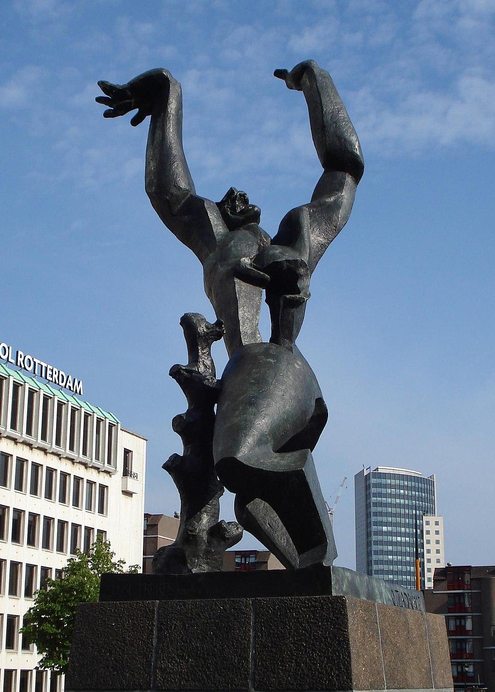 Rotterdam zadkine monument
