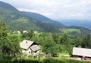 Rovt pod Menino Place in Styria, Slovenia