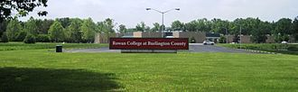 Rowan College at Burlington County - Front of the Pemberton Campus