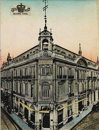 Teatro Odeón - Image: Royal Hotel y Teatro Odeón