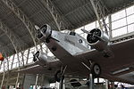 Royal Military Museum, Brussels - Junkers Ju-52-3m (11449004323).jpg