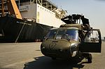 Royal Thai Navy and U.S. Service Members Offload from the USNS Maj. Stephen W. Pless 160128-M-AR450-354.jpg