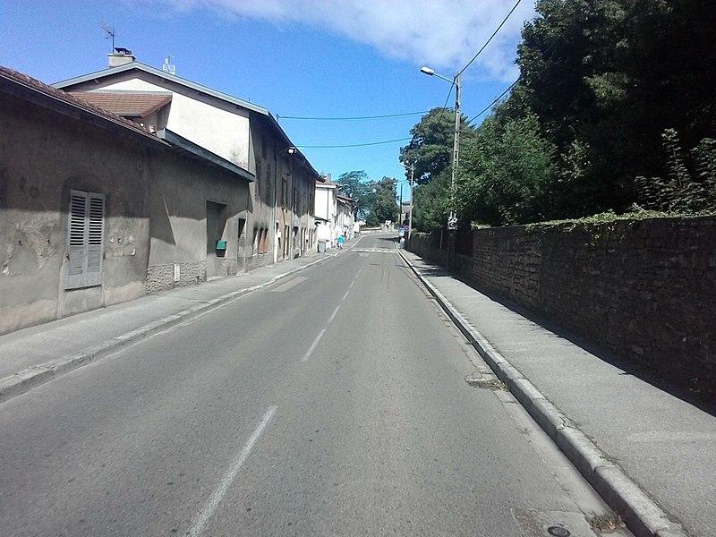 Rue Amédée Bonnet, Ambérieu-en-Bugey