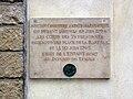 Rue Saint-Bernard Église Sainte-Marguerite - Plaque commémorative.jpg