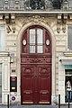 Rue du Faubourg-Poissonnière (Paris), numéro 53, porte.jpg