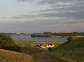 Rügen - Mönchgut lagoon countryside