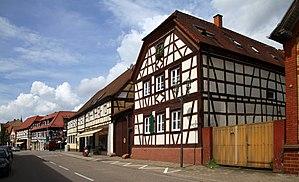 Rülzheim - Image: Ruelzheim 160 Mittlere Ortsstr 65 70 gje
