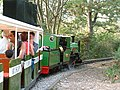 Ruislip Lido Railway leaving Woody Bay Station - geograph.org.uk - 69220.jpg