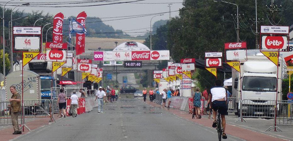 Rumillies (Tournai) - Tour de Wallonie, étape 1, 26 juillet 2014, arrivée (A02).JPG