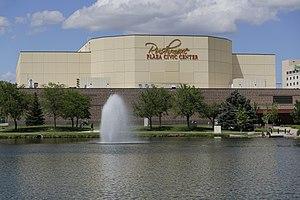 Rushmore Plaza Civic Center - Image: Rushmore Plaza Civic Center in Rapid City, South Dakota