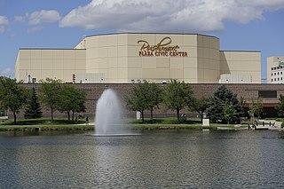 Rushmore Plaza Civic Center arena located in Rapid City, South Dakota