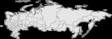Sakhalin trên bản đồ Nga