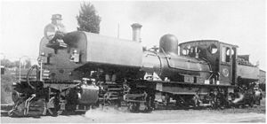 South African Class NG G12 2-6-2+2-6-2 - Class NG G12 no. 57, c. 1930
