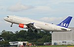 SAS Scandinavian Airlines, Airbus A320-232, OY-KAM (35735992914).jpg