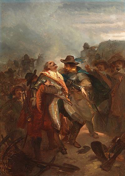 SA 4965-Anno 1632. Ernst Casimir sneuvelt bij Roermond
