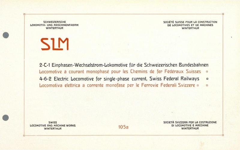 File:SBB Historic - 105a - 2-C-1 Einphasen-Wechselstrom-Lokomotive für die Schweizerischen Bundesbahnen.pdf