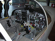 SF-260 cockpit