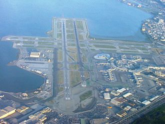 San Francisco International Airport is the primary airport of San Francisco and the Bay Area. SFOApril2005.JPG