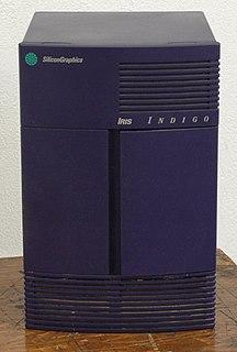 SGI Indigo workstations family by Silicon Graphics
