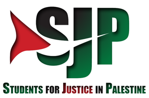 Students for Justice in Palestine - Image: SJP Logo with white background