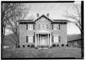SOUTH FRONT - Nannie Bynum Clay Residence, 265 East Main Street, Rogersville, Hawkins County, TN HABS TENN,37-ROGVI,1-2.tif