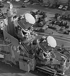 SPG-49 and SPW-2 radars on USS Oklahoma City (CLG-5), in October 1963 (NH 98688).jpg