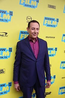 L'actor estatounitense Paul Reubens, en una imachen de 2016