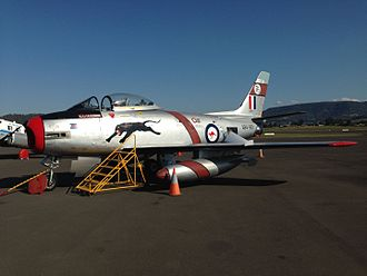CAC Sabre - A94-901 at HARS open day, Albion Park