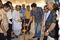 Sabyasachi Chakrabarty Lighting Inaugural Lamp - Group Exhibition - PAD - Kolkata 2016-07-29 5366.JPG