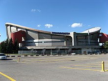 Photo du Saddledome olympique