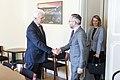 Saeimas Ārlietu komisijas priekšsēdētājs Ojārs Ēriks Kalniņš tiekas ar Vācijas Eiropas lietu valsts ministru (32630910894).jpg