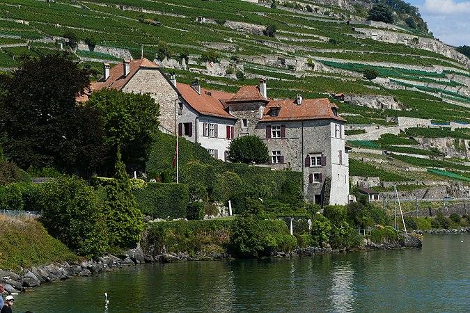 Saint-Saphorin, château de Glérolles 02.jpg
