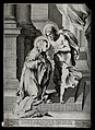 Saint Catherine of Siena. Engraving after V. Salimbeni, 1588 Wellcome V0031845.jpg