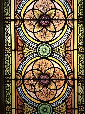 St. Ignatius Church (Baltimore) - Stained Glass windows from 1870 in Saint Ignatius Church