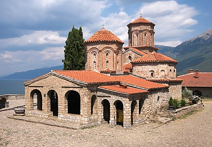 Saint Naum Monastery (Sveti Naum) near Ohrid, Republic of Macedonia