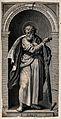Saint Simon. Line engraving. Wellcome V0032987.jpg