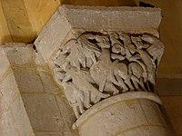 Saintes (17) Basilique Saint-Eutrope Intérieur Chapiteau 13.JPG