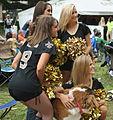 Saints Cheerleaders with Saint Bernard.jpg