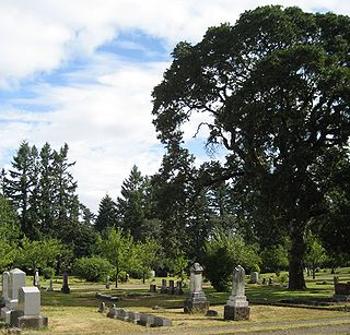 historic cemetery in Salem, Oregon, USA