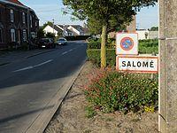 Salomé - Entrée de la commune.JPG